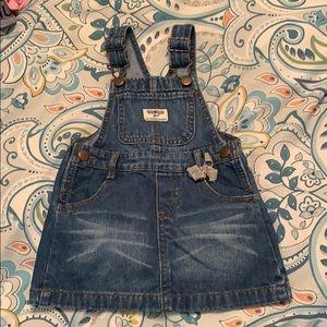 OshKosh B'gosh overall skirt